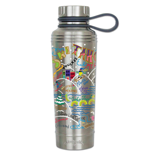 Ski Tahoe Thermal Bottle Thermal Bottle catstudio
