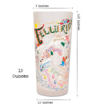 Load image into Gallery viewer, Ski Telluride Drinking Glass - catstudio