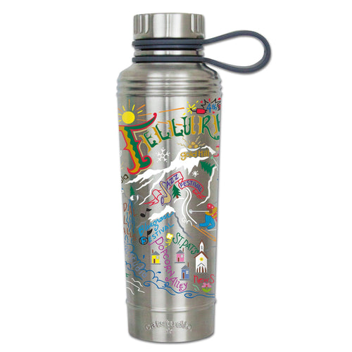 Ski Telluride Thermal Bottle - catstudio