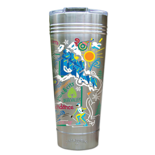 Ski Utah Thermal Tumbler (Set of 4) - PREORDER Thermal Tumbler catstudio