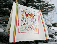 Load image into Gallery viewer, Ski Vail Dish Towel - catstudio