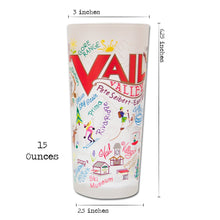 Load image into Gallery viewer, Ski Vail Drinking Glass - catstudio