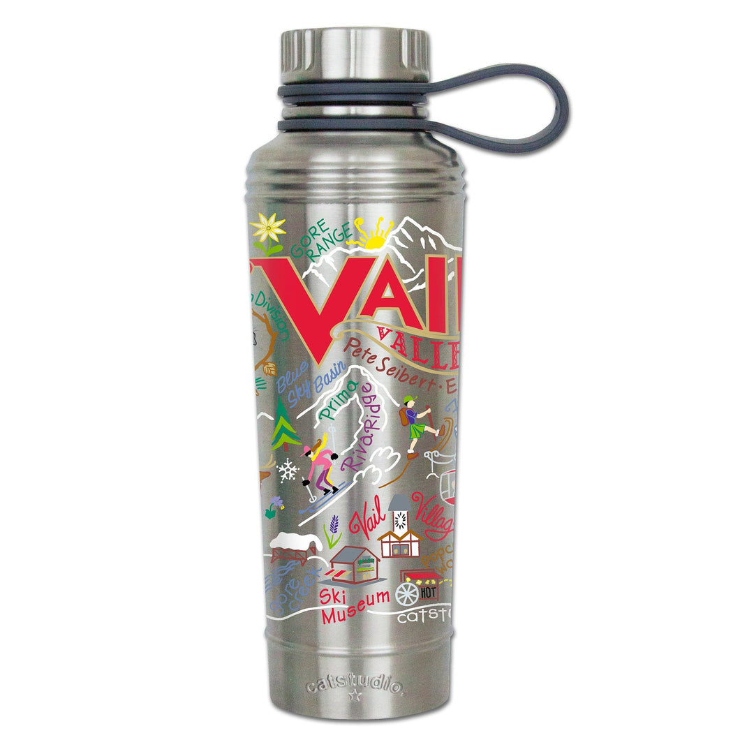 Ski Vail Thermal Bottle - catstudio