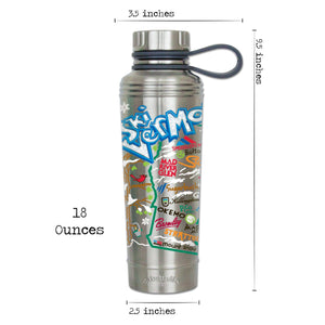 Ski Vermont Thermal Bottle - catstudio