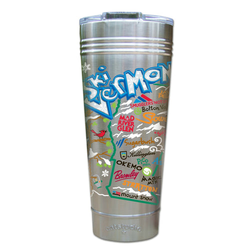 Ski Vermont Thermal Tumbler (Set of 4) - PREORDER Thermal Tumbler catstudio