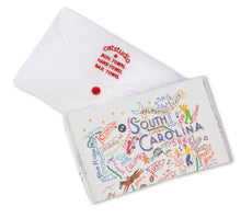 Load image into Gallery viewer, South Carolina Dish Towel - catstudio