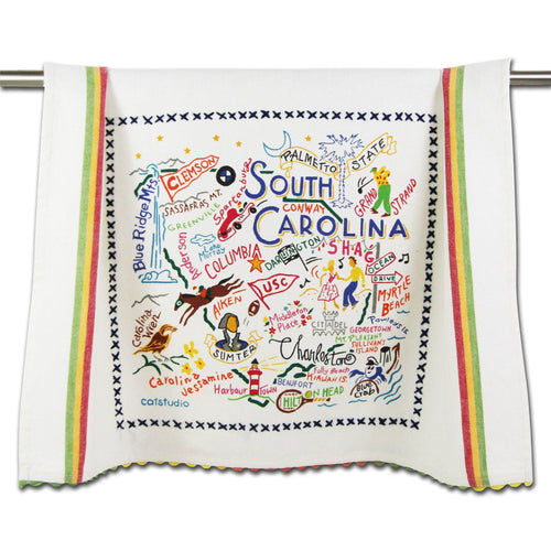 South Carolina Dish Towel - catstudio