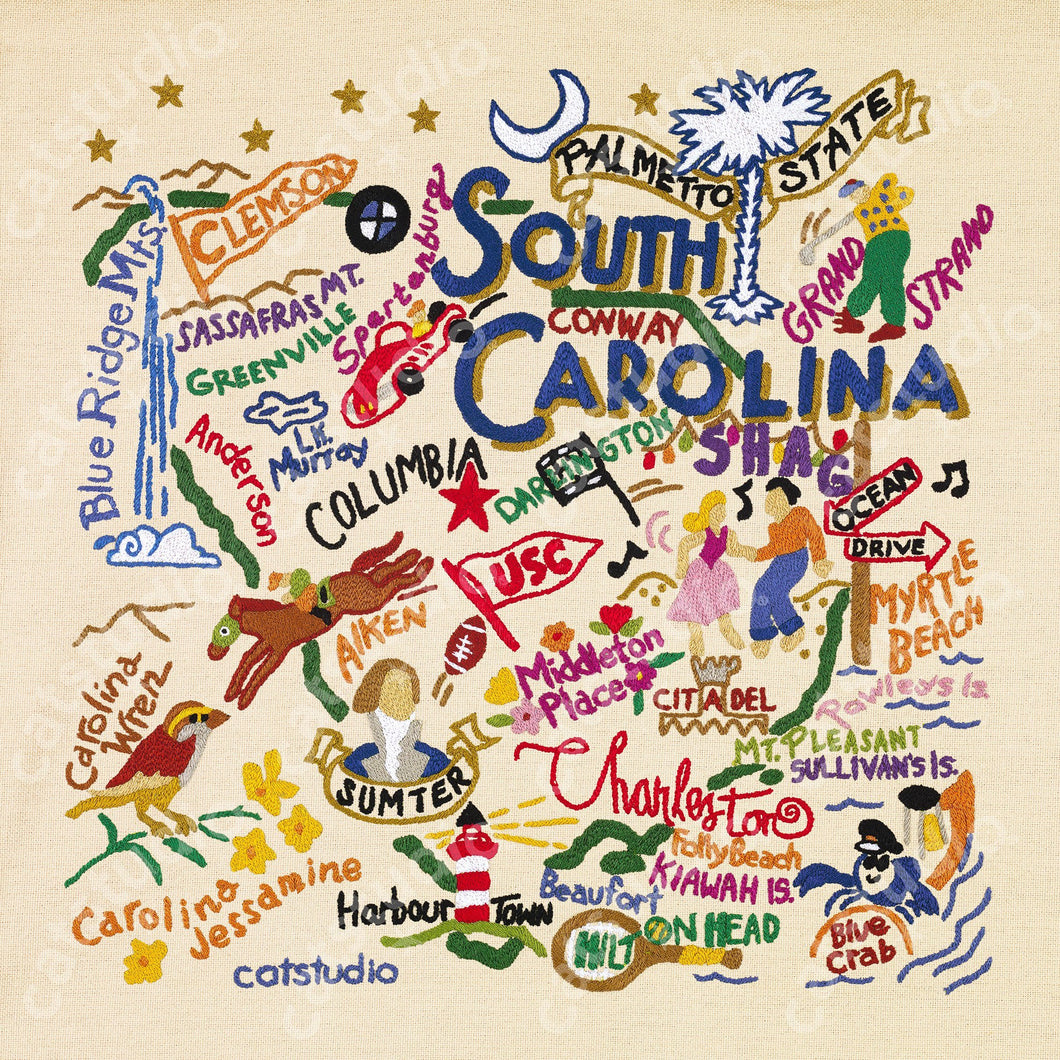 South Carolina Fine Art Print - catstudio