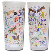Load image into Gallery viewer, South Carolina Drinking Glass - catstudio