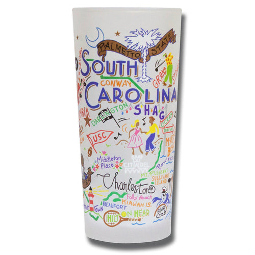South Carolina Drinking Glass - catstudio