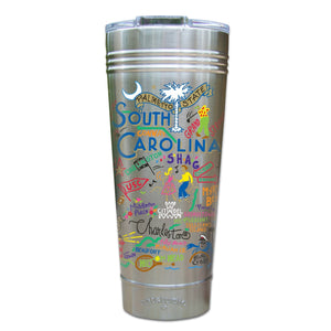 South Carolina Thermal Tumbler (Set of 4) - PREORDER Thermal Tumbler catstudio