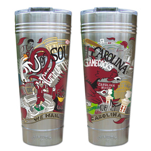 South Carolina, University of Collegiate Thermal Tumbler (Set of 4) - PREORDER Thermal Tumbler catstudio