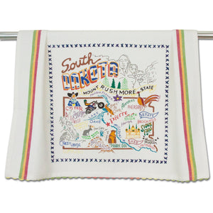 South Dakota Dish Towel - catstudio