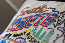 Load image into Gallery viewer, South Dakota Hand-Embroidered Pillow - catstudio