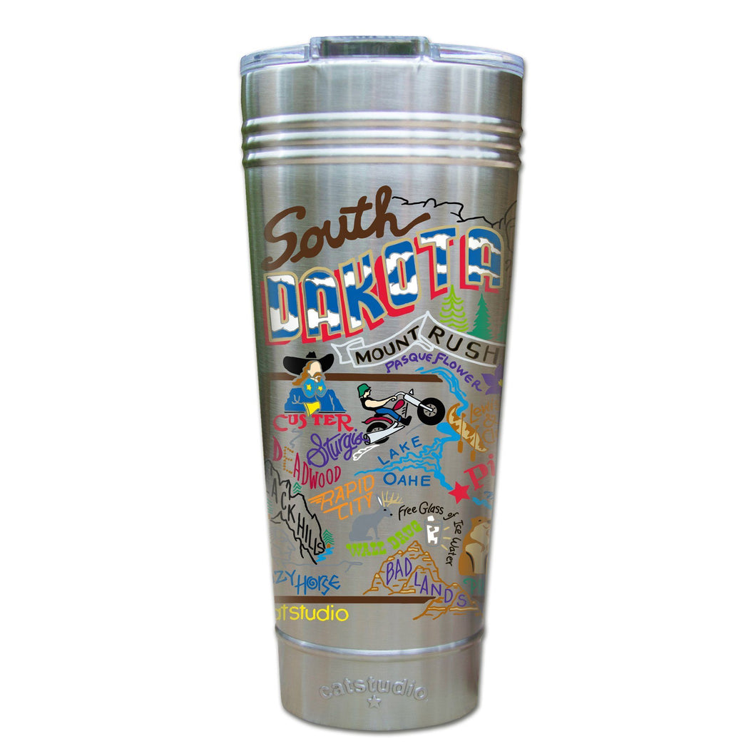 South Dakota Thermal Tumbler (Set of 4) - PREORDER Thermal Tumbler catstudio