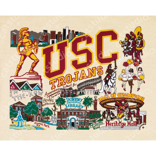 Southern California, University of (USC) Collegiate Fine Art Print - catstudio