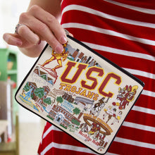 Load image into Gallery viewer, Southern California, University of (USC) Collegiate Zip Pouch - catstudio