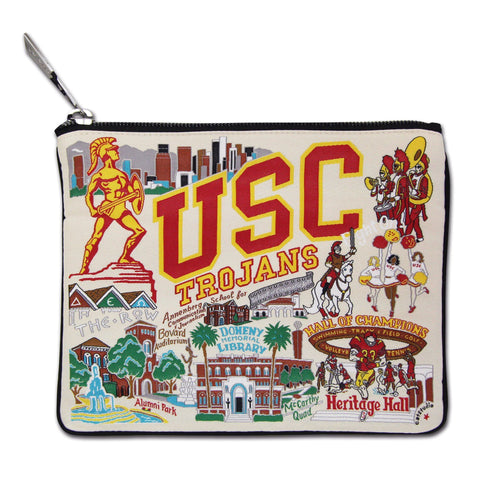 Southern California, University of (USC) Collegiate Zip Pouch Pouch catstudio