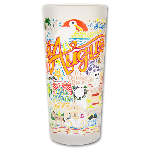 St. Augustine Drinking Glass - catstudio