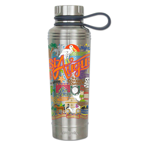 St. Augustine Thermal Bottle - catstudio
