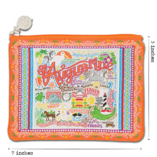 Load image into Gallery viewer, St Augustine Zip Pouch - Pattern - catstudio