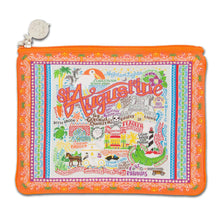 Load image into Gallery viewer, St Augustine Zip Pouch - Pattern Pouch catstudio