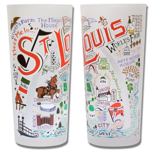 St. Louis Drinking Glass - catstudio