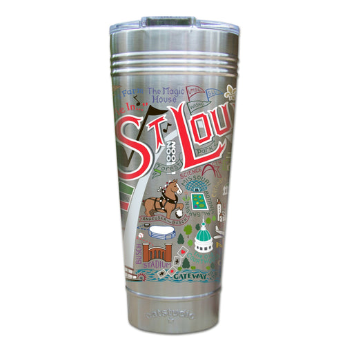 St. Louis Thermal Tumbler (Set of 4) - PREORDER Thermal Tumbler catstudio