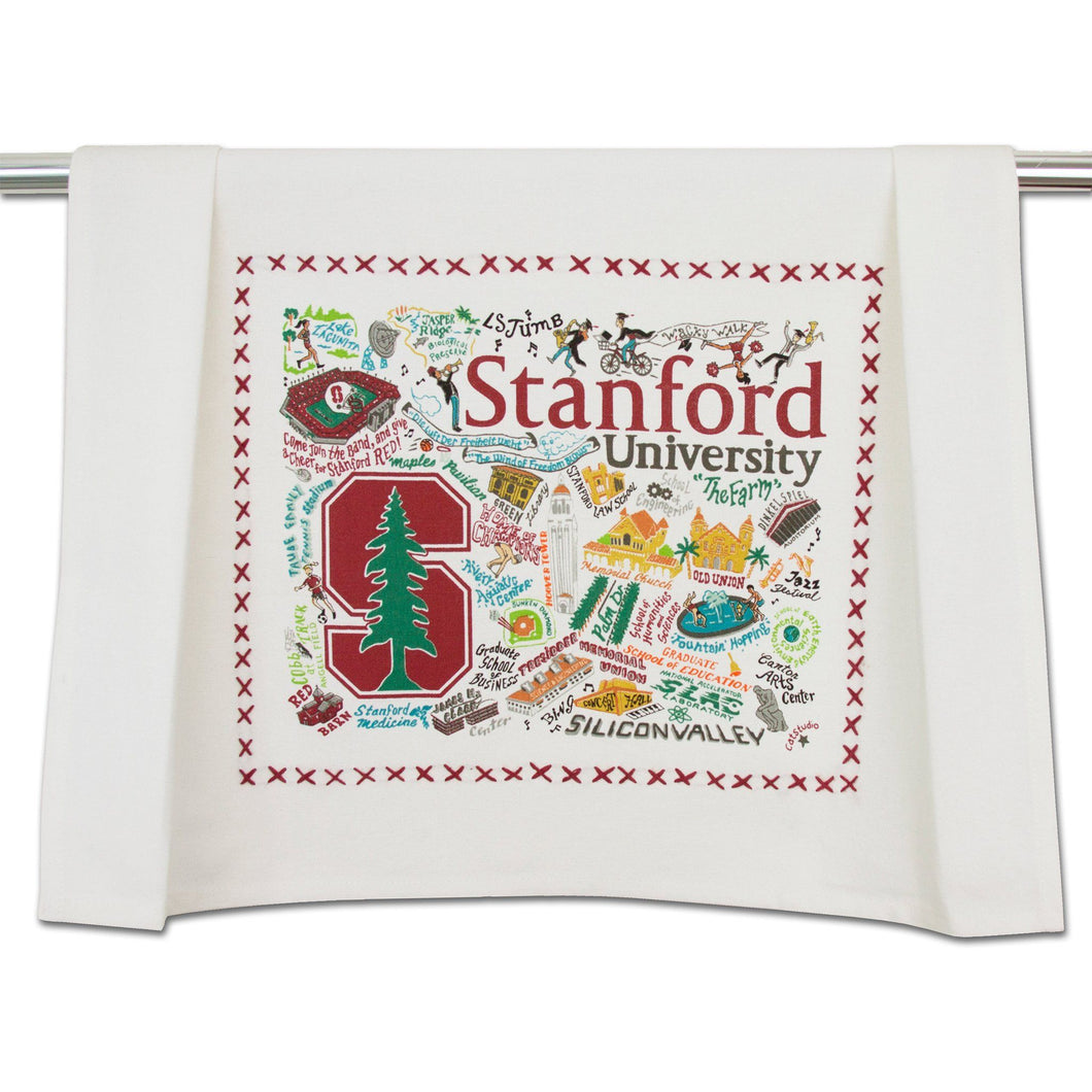 Stanford University Collegiate Dish Towel Dish Towel catstudio
