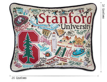 Load image into Gallery viewer, Stanford University Collegiate Embroidered Pillow Pillow catstudio