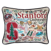 Load image into Gallery viewer, Stanford University Collegiate Embroidered Pillow - catstudio