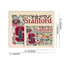 Load image into Gallery viewer, Stanford University Collegiate Fine Art Print - catstudio