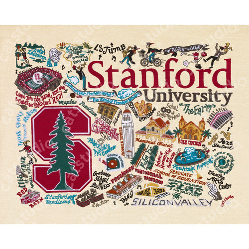 Stanford University Collegiate Fine Art Print - catstudio