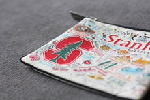Load image into Gallery viewer, Stanford University Collegiate Zip Pouch - catstudio