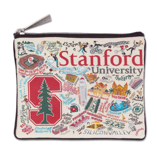 Stanford University Collegiate Pouch Pouch catstudio
