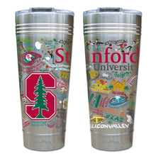 Load image into Gallery viewer, Stanford University Collegiate Thermal Tumbler (Set of 4) - PREORDER Thermal Tumbler catstudio