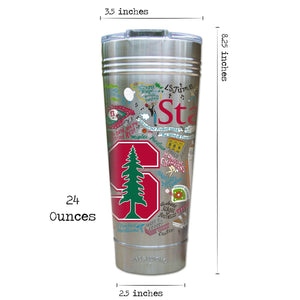 Stanford University Collegiate Thermal Tumbler (Set of 4) - PREORDER Thermal Tumbler catstudio