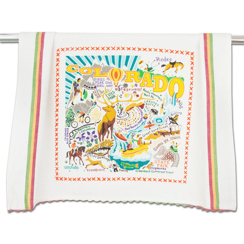 Summer Colorado Dish Towel - catstudio