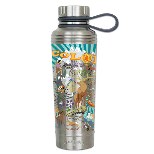 Summer Colorado Thermal Bottle - catstudio