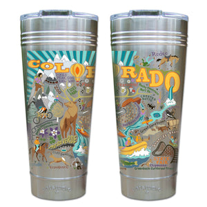 Summer Colorado Thermal Tumbler (Set of 4) - PREORDER Thermal Tumbler catstudio