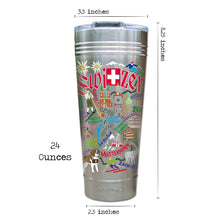 Load image into Gallery viewer, Switzerland Thermal Tumbler (Set of 4) - PREORDER Thermal Tumbler catstudio