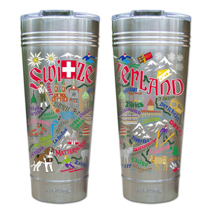 Switzerland Thermal Tumbler (Set of 4) - PREORDER Thermal Tumbler catstudio