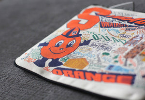 Syracuse University Collegiate Zip Pouch - catstudio