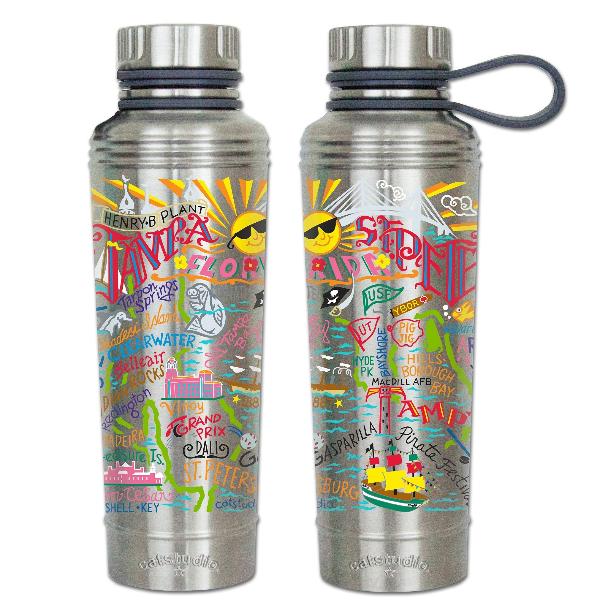 Tampa-St  Pete Thermal Bottle | Florida Collection by