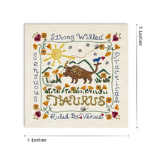 Load image into Gallery viewer, Taurus Astrology Fine Art Print Art Print catstudio