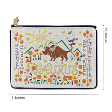 Load image into Gallery viewer, Taurus Astrology Zip Pouch Pouch catstudio