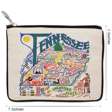 Load image into Gallery viewer, Tennessee Zip Pouch - Natural - catstudio