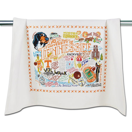 Tennessee, University of Collegiate Dish Towel Dish Towel catstudio