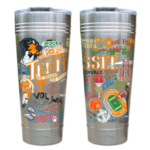 Tennessee, University of Collegiate Thermal Tumbler (Set of 4) - PREORDER Thermal Tumbler catstudio