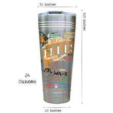 Load image into Gallery viewer, Tennessee, University of Collegiate Thermal Tumbler (Set of 4) - PREORDER Thermal Tumbler catstudio
